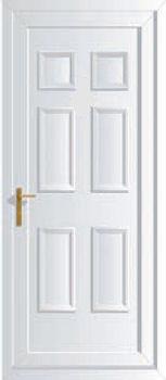 Edwardian solid upvc back doors cheap back back doors for Cheap upvc back door