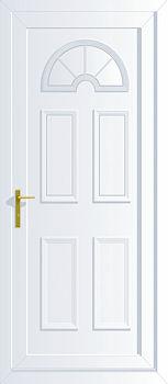Georgian Solid Upvc Back Doors Cheap Upvc Back Doors