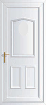 Jacobean solid upvc back doors cheap upvc back doors for Cheap upvc back door