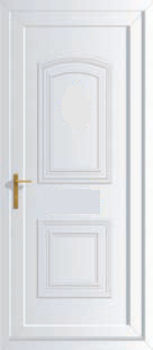 Victorian solid upvc back doors cheap upvc back doors for Cheap front and back doors