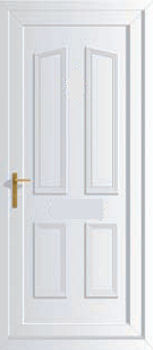 Windsor solid upvc back doors cheap upvc back doors for Cheap back doors