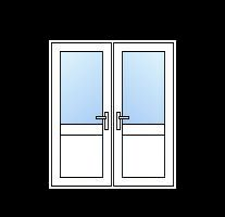 upvc half glazed french doors cheap diy upvc french doors