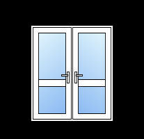Upvc french doors with midrail cheap diy upvc french for Upvc french doors cheap