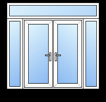 Diy Upvc French Doors Standard Size Upvc French Door