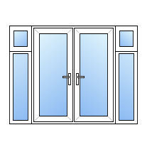French doors juliet balcony inward opening juliet balcony for Upvc french doors inward opening