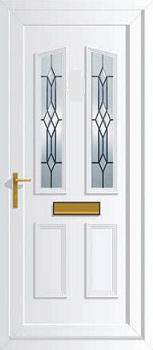 Windsor two db4 upvc front doors cheap upvc front doors for Cheap upvc front doors