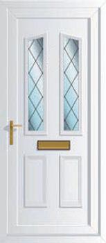 Terrific Windsor Two Diamond Lead Upvc Front Doors Cheap Upvc Door Handles Collection Olytizonderlifede