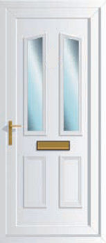 Windsor Two Glazed Upvc Front Doors Cheap Upvc Front