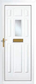 Xanthi One Glazed Upvc Front Doors Cheap Upvc Front Doors