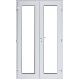 uPVC French Doors - 1190 x 2090mm