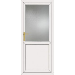 uPVC Back Door - 890 x 2090mm