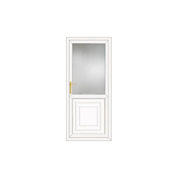 Upvc back door 890 x 2090mm diy upvc doors for Upvc french doors 1790 x 2090mm