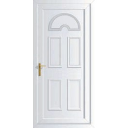 uPVC Solid Panel Door - 890 x 2090mm