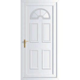 uPVC Georgian 1 Front Door - 890 x 2090mm