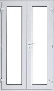 Upvc french doors for Upvc offset french doors