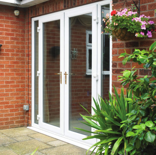 Upvc french doors for French doors exterior upvc