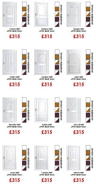 Solid panel upvc doors for Upvc offset french doors