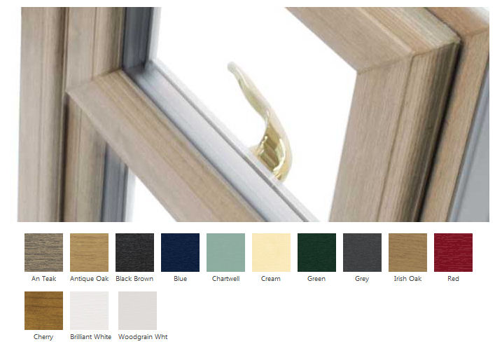 Coloured Upvc Window Frames
