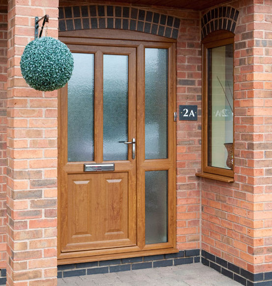Upvc Doors With Side Panels